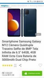 Título do anúncio: SMARTPHONE Samsung M12 NOVO NA CAIXA