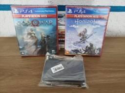Jogos de PS4 e Case de HD