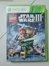 Título do anúncio: Jogo Star wars III Xbox 360
