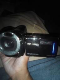 Camera profissional com defeito