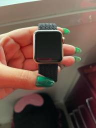 Título do anúncio: Apple Watch série 3 rose gold