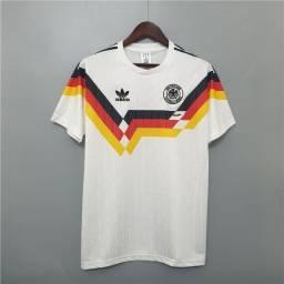 Camisa Retrô Alemanha 1990 Home