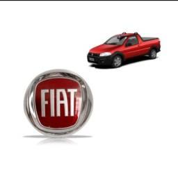 Título do anúncio: Emblema Grade Dianteira Strada 2008-2018