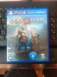 jogo ps4 god of war vendo ou troco