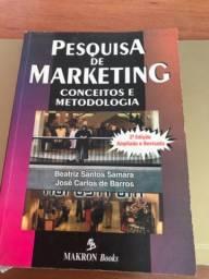 Livro Pesquisa de Marketing