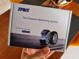 Sensor pressão pneus moto - tpms solar
