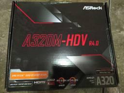 Placa AMD Ryzen A320M-HDV R4.0