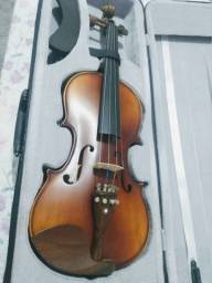 Título do anúncio: Vendo 2 violinos 4/4 (Tagima e Giannini)