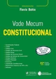 Título do anúncio: Vade Mecum Constitucional 20ª ed.