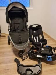 Carrinho e Bebê Conforto Americano Britax B-Agile