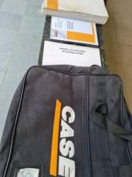 Manual proprietário Retroescavadeira Case Completo