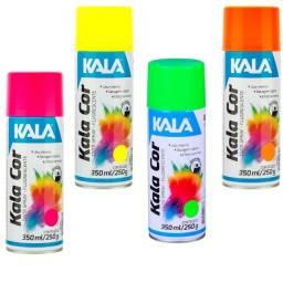 Título do anúncio: Tinta Spray Fluorescente Kala 350ML