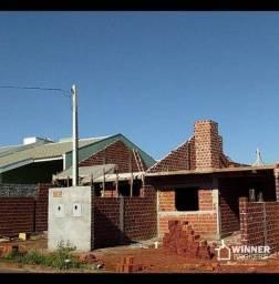 Casa com 2 dormitórios à venda, 60 m² por R$ 165.000 - Parque Residencial Bom Pastor - Sar