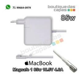 Título do anúncio: Fonte de energia Carregador Macbook Pro Magsafe 1 85w 18.5V 4.6A Marca Zrc
