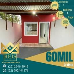 Título do anúncio: RI Casa com 1 quarto à venda por R$ 60.000 ? Unamar ? Cabo Frio/RJ.