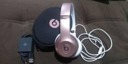 Excelente Fone de ouvido sem fio Beats Solo³ Wireless rose gold