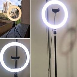 Título do anúncio: Ring Light profissional [2,10m] Com tripé Digital influencer/youtuber/blogueira