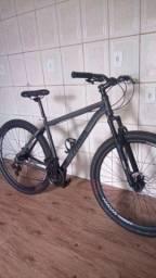Título do anúncio: Vendo essa bike com nota fiscal, nunca usada