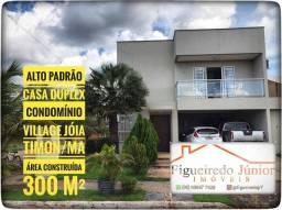 Casa - Duplex - Venda - Condomínio Village Jóia - Timon