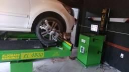 Rampa e alinhamento 3d eldorado maquinas