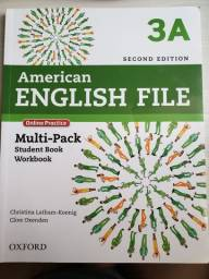 Título do anúncio: American English File 3A