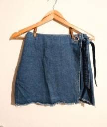 Título do anúncio: Saia jeans bluesteel