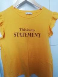 Título do anúncio: Blusa amarela zara M