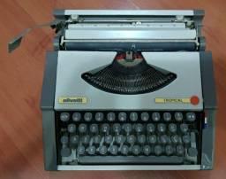 Título do anúncio: Máquina de Datilografia Olivetti Tropical Raridade