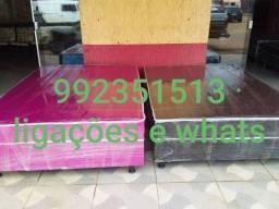Cama box de casal 400 reais