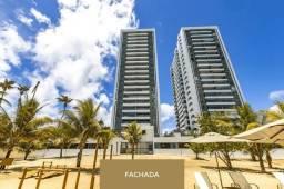 Título do anúncio: Edf Gran Marine, beira mar de Guaxuma: 114 m², 3/4, varanda gourmet