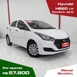 Título do anúncio: Hyundai Hb20 1.0 Comfort impecável apenas 19 mil km!!