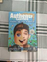 Livro authentic games vivendo uma vida autêntica