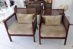 Título do anúncio: Cadeiras de Apoio para Sala de Estar