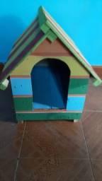 Título do anúncio: Casinha de cachorro porte médio de madeira