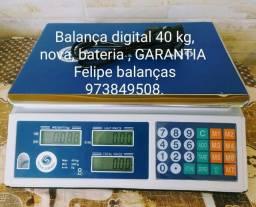 balança digital 40 kg TOTAL GARANTIA