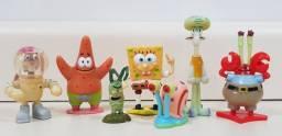 Coleção Miniatura Turma Do Bob Esponja Kinder Ovo
