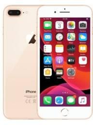 Título do anúncio: ***Iphone 8 Plus 64 GB dourado + carregador + Fone de ouvido + -brinde