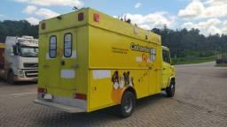 Baú Ambulancia  Equipado