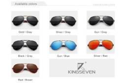 Oculos Aviador Kingseven Original  R$ 169,90