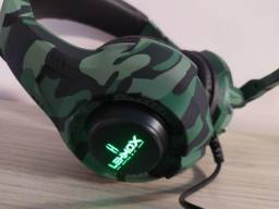 Headset Gamer Com LED Lehmox Gt-F15