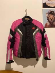 Jaqueta texx motociclista feminina proteção small