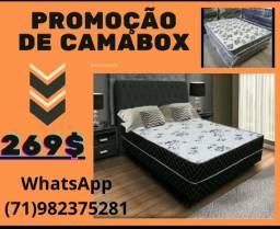 Título do anúncio: Cama box casal promoção 269$