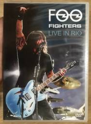 DVD Foo Fighters Live In Rio (lacrado)