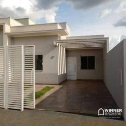 Casa com 2 dormitórios à venda, 53 m² por R$ 180.000,00 - Jardim Cristina II - Mandaguari/