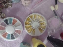 Itens para alongamento de unhas