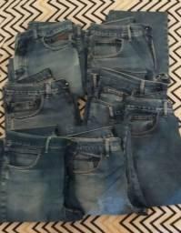 Título do anúncio: 7 Calças Jeans Masculina de Marca Pierre Cardin