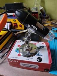 Título do anúncio: Microscópio USB 2.0 liba (novo)
