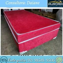 Título do anúncio: cama solteiro box \\ espuma \\