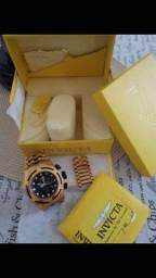 Título do anúncio: Relógio Invicta Original veio dos EUA só usei duas vezes !