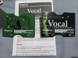 Título do anúncio: Placa Roland SR-JV80-02 Orchestral e Vocal